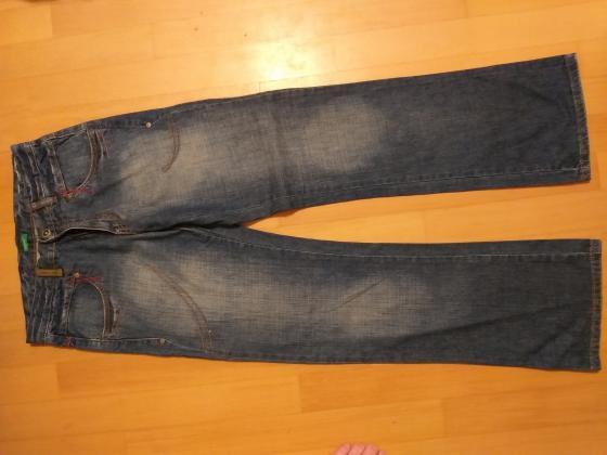 PRODAM dolge jeans/kavbojke hlače velikost XL CM/INCH 160/63