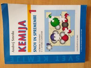 Prodam učbenik za kemijo, SNOV IN SPREMEMBE 1