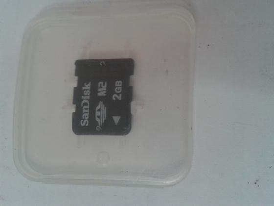 SD-M2 2GB spominsko kartico za telefon
